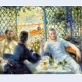 The canoeist s luncheon 1880