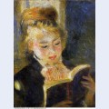The reader young woman reading a book 1876