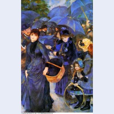 Umbrellas 1886