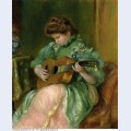 Woman with a guitar 1897 1