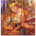 Woman with a mandolin 1919