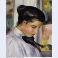 Young woman in profile 1897