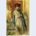 Young woman standing 1895