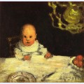 Child at table