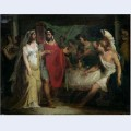 The wedding of alexander the great bc and roxana