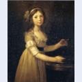 Marguerite marie lagnier ten years old