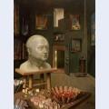 Boris anrep in his studio boulevard arago