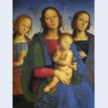 Madonna and child with st catherine and st rosa
