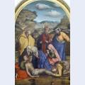Lamentation with saints