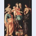 Madonna with st anne st sebastian st peter st benedict and st filippus