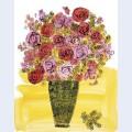 Basket of flowers c 1958