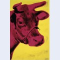 Cow c 1966 yellow and pink