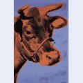 Cow c 1971 purple and orange