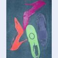 Diamond dust shoes c 1980 81 four