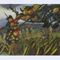 Apple tree study for portrait of ellen c