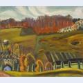 Autumn fields knowlton