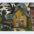 Farmhouse and car c