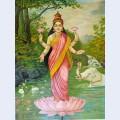 Lakshmi the goddess of wealth