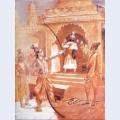 Sri rama breaking the bow