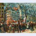 Carnival on the grands boulevards