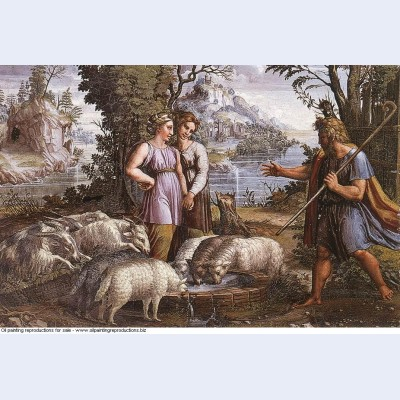 Jacob s encounter with rachel 1519