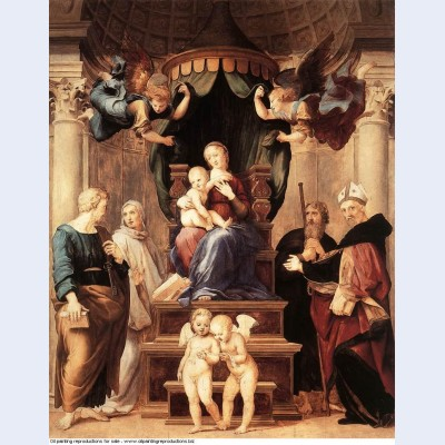 Madonna of the baldacchino