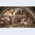 Pope leo i repulsing attila 1514
