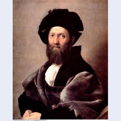 Portrait of baldassare castiglione 1516