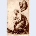 Study for the holy family 1518