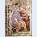 The judicial virtues pope gregory ix approving the vatical decretals justinian handing the