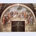 The parnassus from the stanza delle segnatura 1511