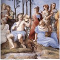The parnassus from the stanza delle segnatura detail 1511 2