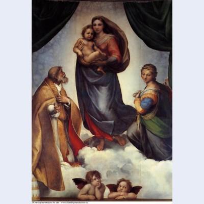 The sistine madonna 1513