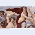 The triumph of galatea detail 1506