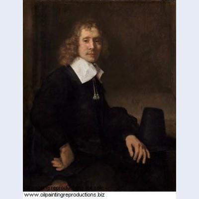 A young man at a table possibly govaert flinck 1660