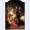 Holy family 1634