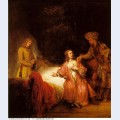 Joseph accused by potiphar s wife 1655