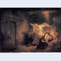 Joseph s dream in the stable in bethlehem 1645