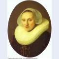 Portrait of cornelia pronck wife of albert cuyper at the age of 33 1633