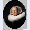Portrait of maertgen van bilderbeecq 1633