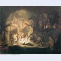 The entombment 1635