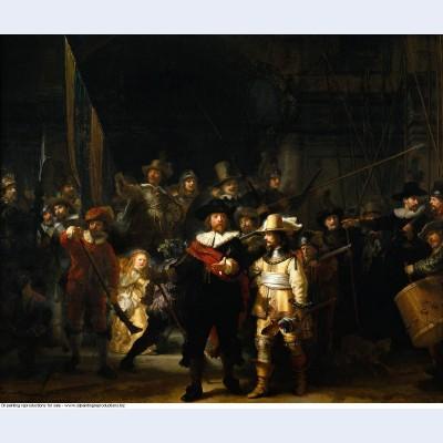 The nightwatch 1642