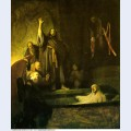 The raising of lazarus 1630