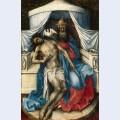 Mourning trinity throne of god
