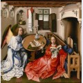 The merode altarpiece the annunciation