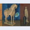 Still life with t ang horse