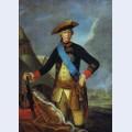 Portrait of peter iii of russia