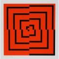 Espiral laranja