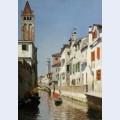 A canal scene venice
