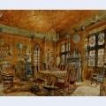 Interieur of castlein renaissance style